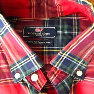 Vineyard Vines Classic Fit Tucker Shirt XL